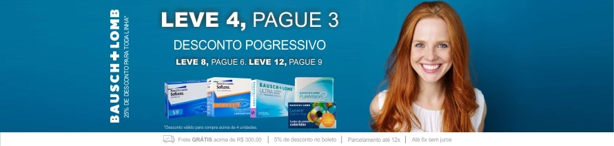 Bausch Lomb - Compre 3 Leve 4