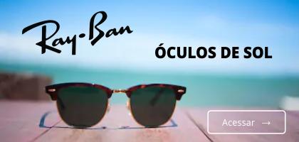 Óculos de Sol Ray Ban com o melhor preço em até 12 ou 5% off no boleto.