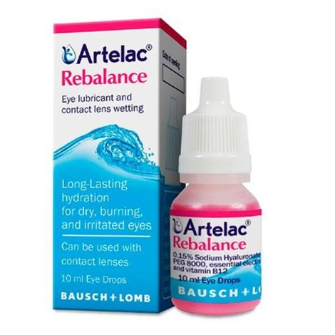Artelac Rebalance Gotas Umidificantes 10 ml