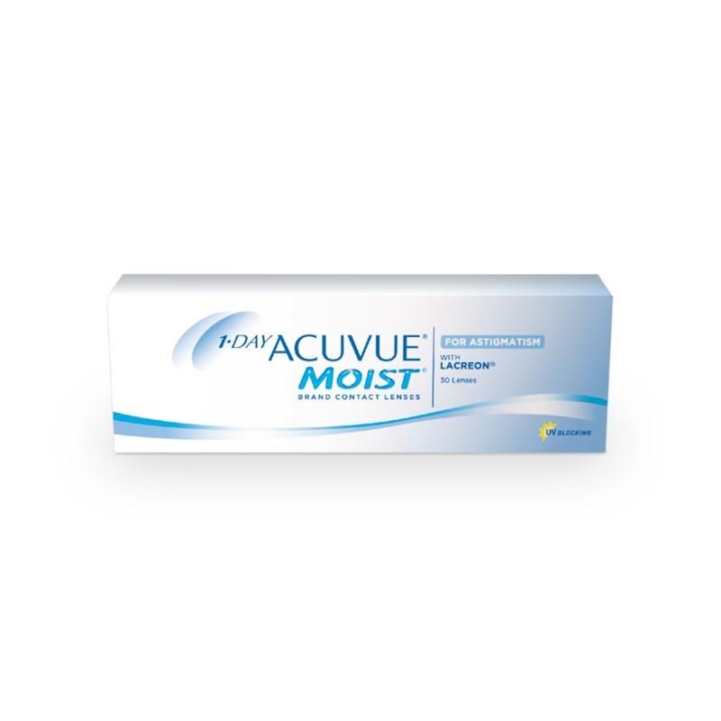 Lentes de contato Acuvue Moist 1 Day para Astigmatismo ... aa5875588d