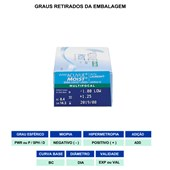 LENTES DE CONTATO ACUVUE MOIST MULTIFOCAL 1 DAY