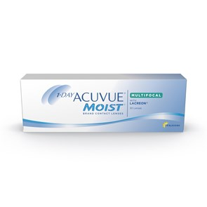 Lentes de Contato Acuvue Moist Multifocal Presbiopia