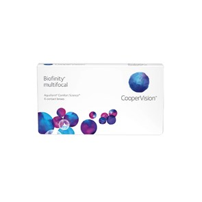 Lentes de Contato Biofinity Multifocal Presbiopia