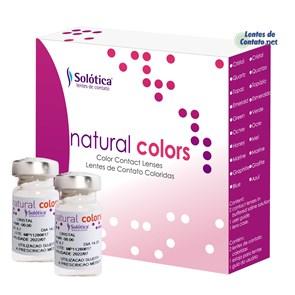 Lentes de Contato Coloridas Natural Colors Sem Grau