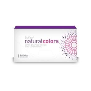 Lentes de Contato Coloridas Solflex Natural Colors