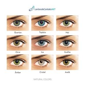Lentes de contato Natural Colors com grau