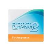 Lentes de Contato Tórica PureVision 2 Astigmatismo