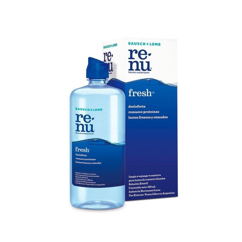 24db1423a Solução de Limpeza Renu Fresh 355 ml • LentesdeContato.NET