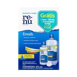 Solução para Lentes de Contato Renu Fresh 475 ml